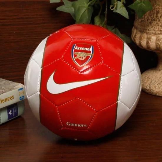Nike Arsenal  Red-white Skills Soccer Ball
