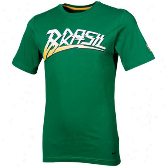 Nike Brazil Core T-shirt - Green