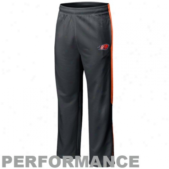 Nike Bucknell Bison Charcoal Players Warm-up Training Performance Pants