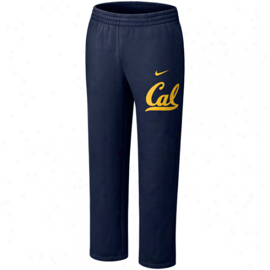 Nike Cal Bears Navy Blue Classic Fleece Pants