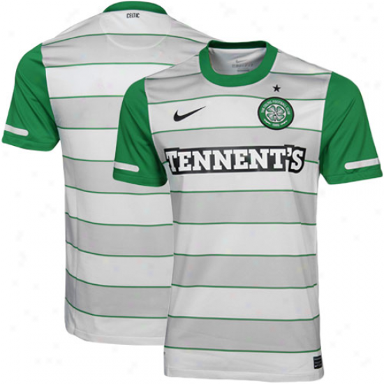 Nike Celtic  Away Soccer Jersey 11/12 - Green/white