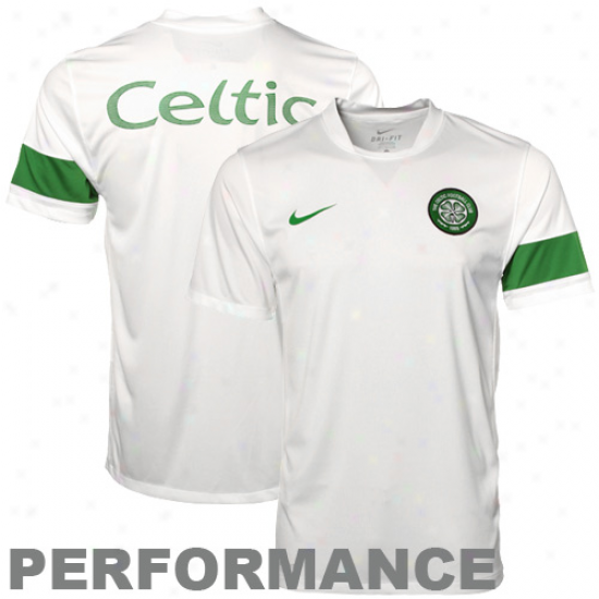 Nike Celtic White Pre-match Performance T-shirt