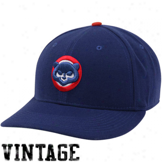 Nike Chicago Cubs Cooperstown Classic Wool Adjustable Cardinal's office - Royal Blue