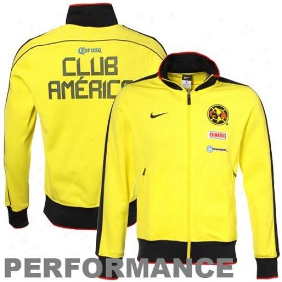Nike Club America  Gold Track Jacket