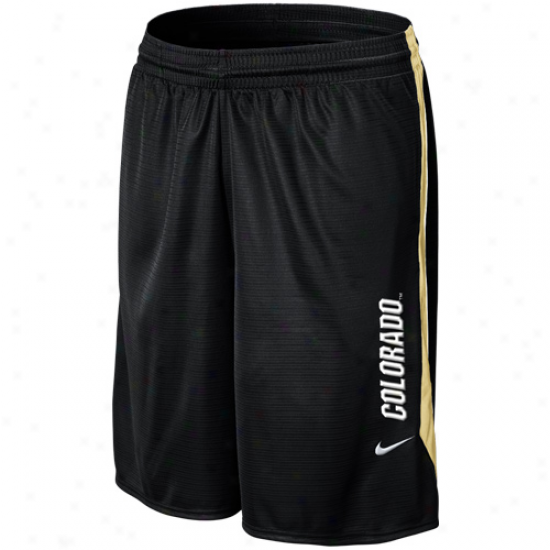 Nike Colorado Buffaloes Classic Mesh Shorts - Black
