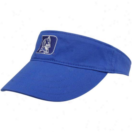 Nike Duke Blue Devils Ladies Duke Blue Classic Adjustable Visor