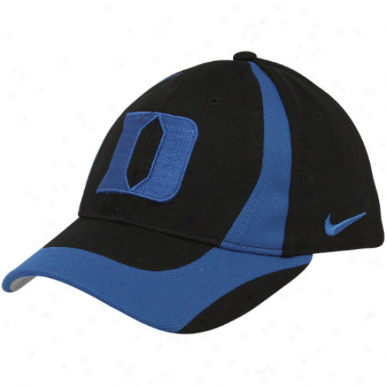 Nike Duke Blue Devils Young men Black-duke Blue Team Flex Hat