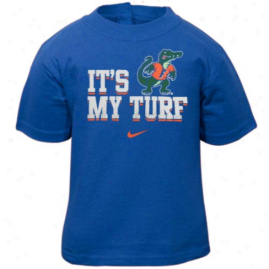Nike Florida Gators Infant It's My Turf T-shirt - Royal Blue