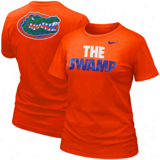 Nike Florida Gatord Ladies The Swamp T-shirt - Orange