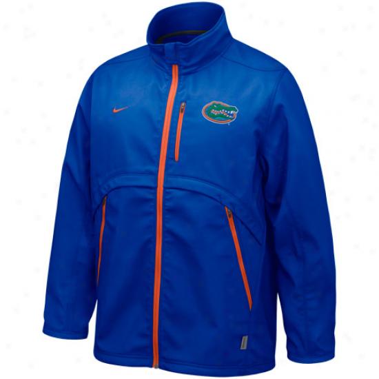 Nike Florida Gators Royao Blue Conference Hybrie Full Zip Jacket