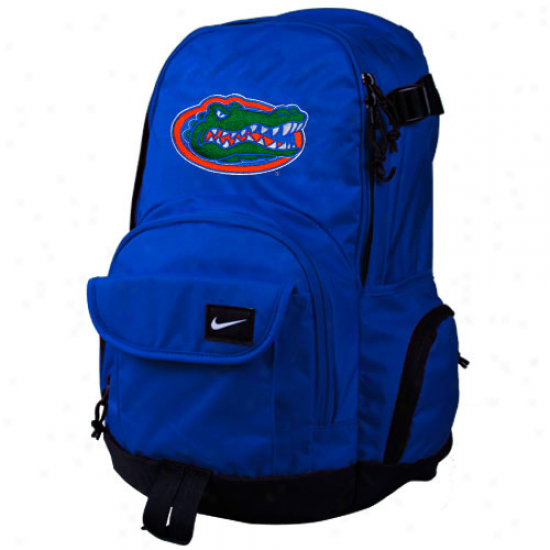 Nike Florida Gators Royal Blue Fundamentaos Fullfare Backpack