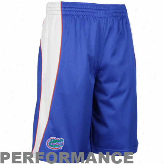 Nike Florida Gators Royal Blue Replica Lacrosse Performanec Shorts