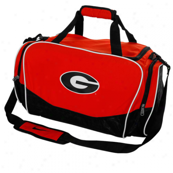 Nike Georgia Bulldogs Red Brasilia Medium Duffel Bag