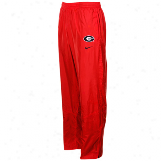Nike Georgia Bulldogs Red Classic Wind Pants