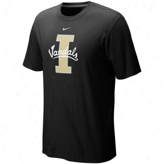 Nike Idaho Vandals First-rate work  Logo T-shirt - Black