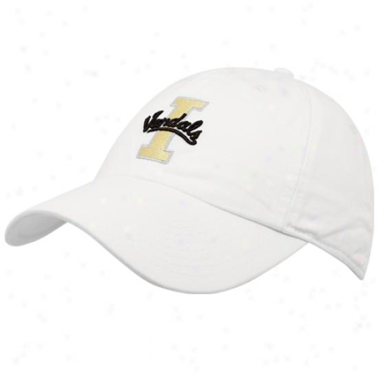Nike Idaho Vandals White Heritage 86 3d Tailback Adjustzble Hat