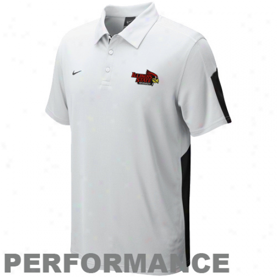Nike Illinois State Redbirds Pure Sphere Performance Polo