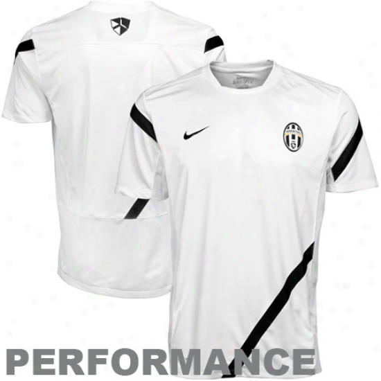 Nike Juventus  Training Performance Top - White
