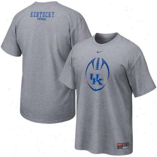 Nike Kentucky Wildcats Ash Team Offspring T-shirt