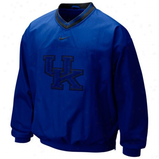 Nike Kentucky Wildcats Royal Blue Classic Seasonal Windshirt