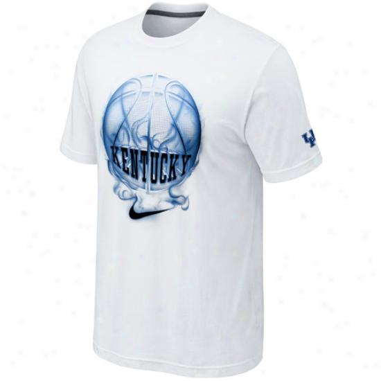 Nike Kentucky Wildcats The Elite Inferno T-shirt - White