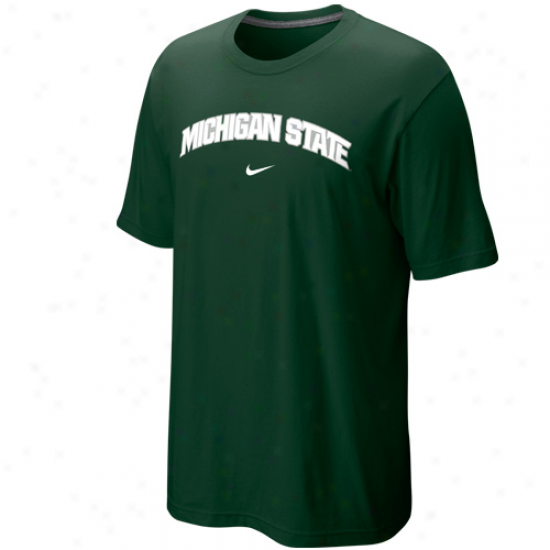 Nike Michigan State Spartans Arch T-shirt - Green