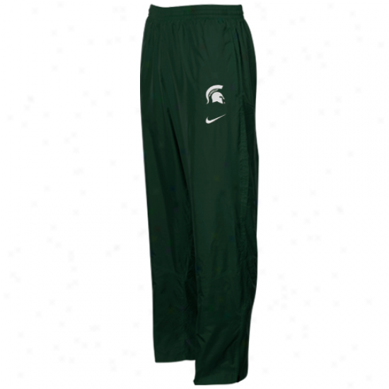 Nike Michigan State Spartans Green Classic Wind Pants