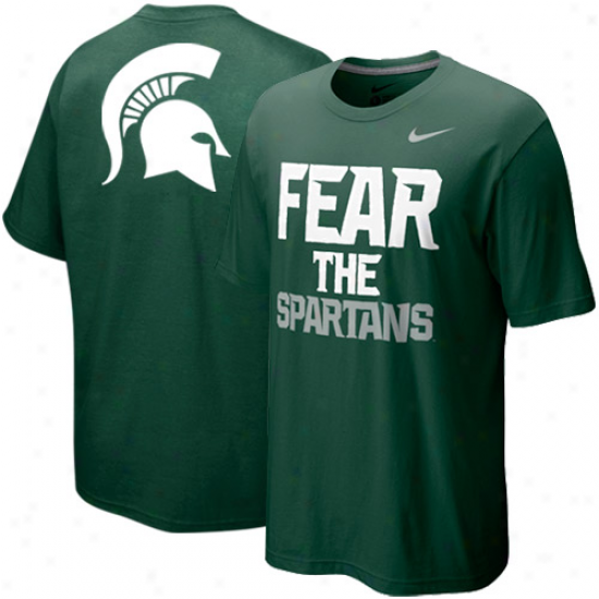Nike Michigan State Spartans My School Local T-shirt - Green