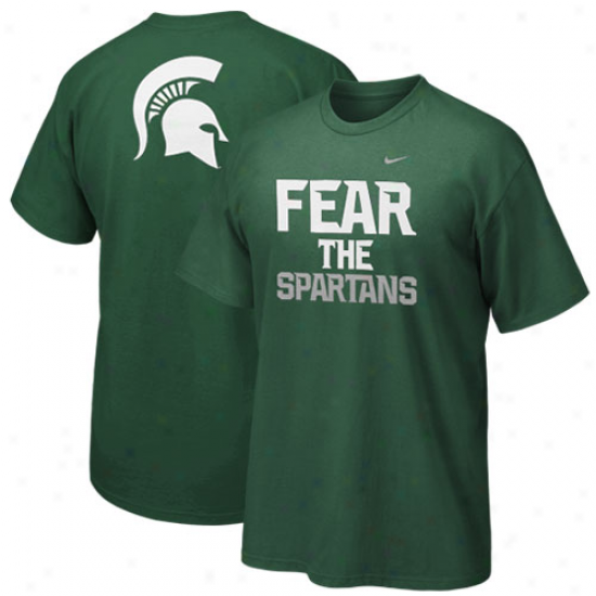 Nike Michigan State Spartans Youth Local T-shirt - Green