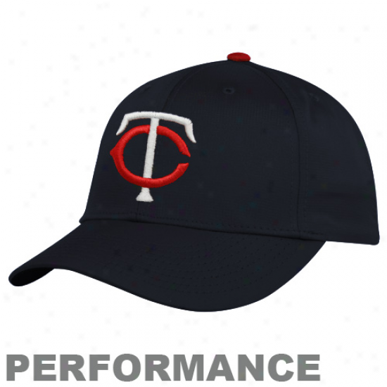 Nike Minnesota Twins Navy Blue Legacy 91 Exercise Performance Adjustable Hat