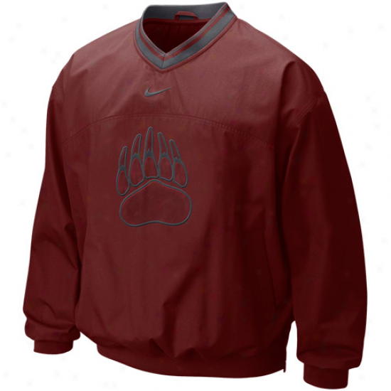 Nike Montana Grizzlies Maroon Classic Seasonal Windshirt