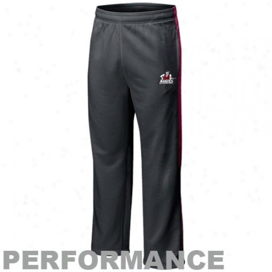 Nike New Mexico State Aggies Charcoal Players Warm-up Training Performance Pants