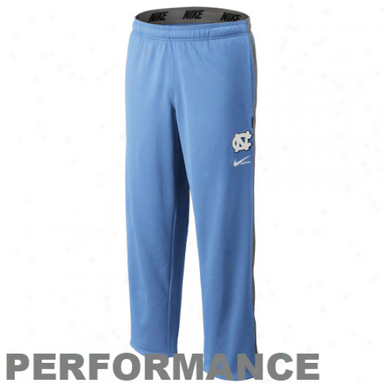 Nike North Carolina Tar Heels (unc) Carolina Blue Ko Playing Practice Pants