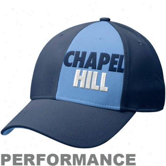 Nike North Carolina Tar Heels (unc) Navy Blue Chapel Hill Legacy 91 Swoksh Performance Flex Hat