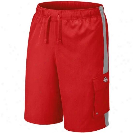 Nike Ohio State Buckeyes Scarlet Sandrunner Shorts