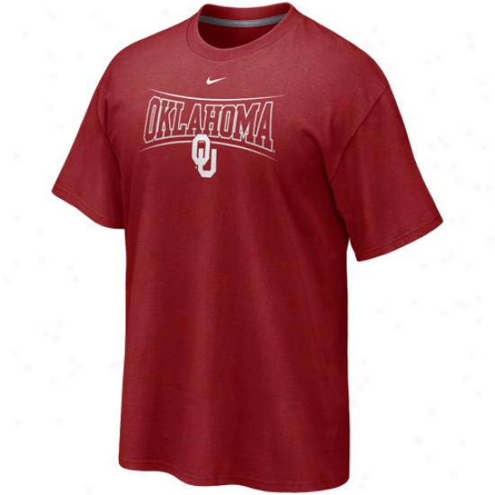 Nike Oklahoma Sooners Midterm T-shirt - Crimson