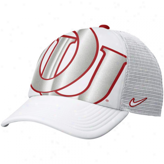 Nike Oklahoma Sooners Women's Retro Trucker Hat - White