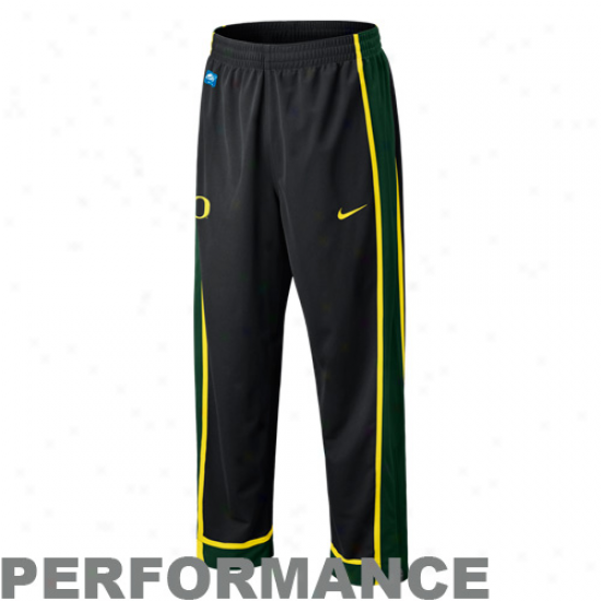 Nike Oregon Ducks Black Elite Game Pick Performance Pants -