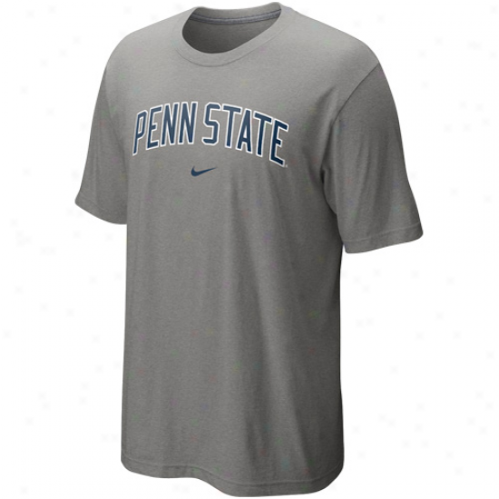 Nike Penn State Nittany Lions Chief T-shirt - Gray