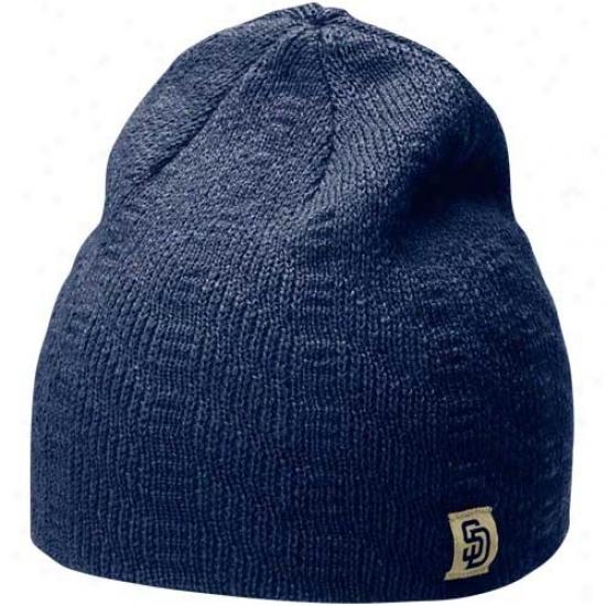 Nike San Diego Padres Ladies Navy Blue Knit Beanie