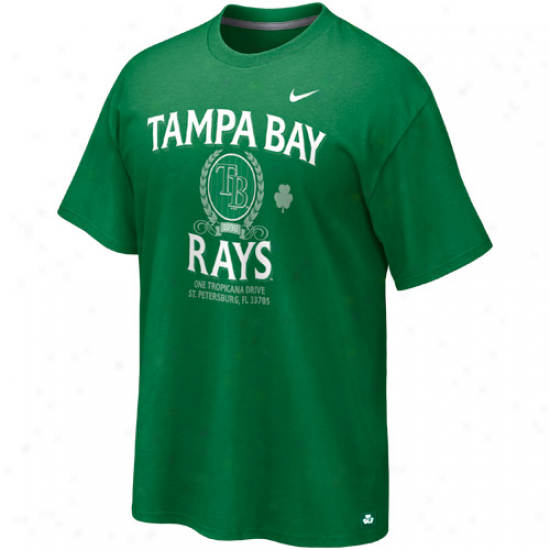 Nike Tampa Bay Rays Vintage St. Patty's Day Tri-blend T-shirt - Green