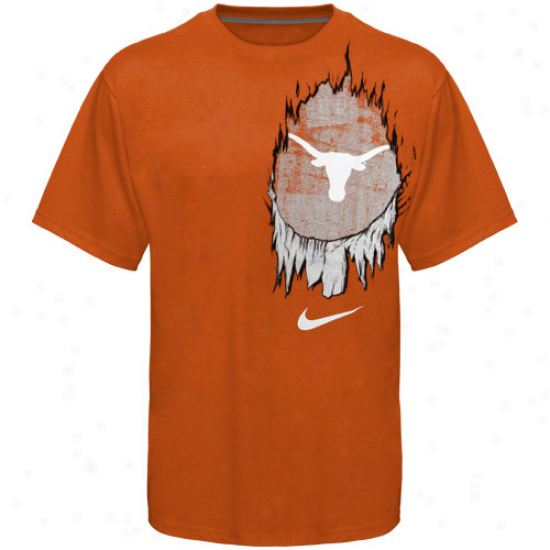 Nike Texas Longhorns Beast T-shirt - Burnt Orange