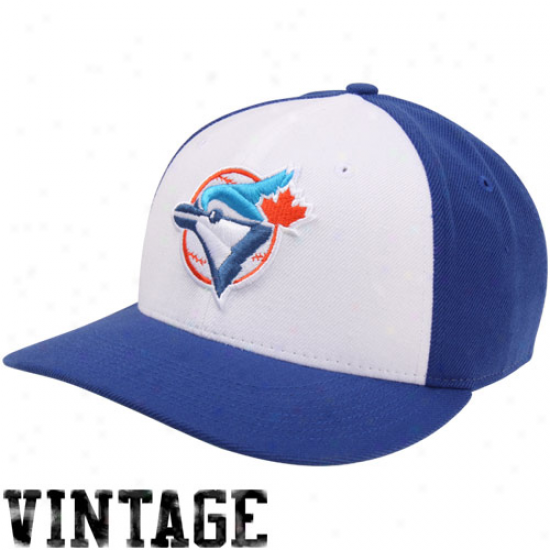 Nike Toronto Blue Jays Cooperstown Classic Wool Adjustable Hat - Blue/white