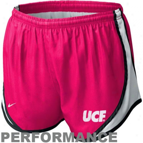 Nike Ucf Knights Ladies Hot Pink Tempo Performance Training Shorts
