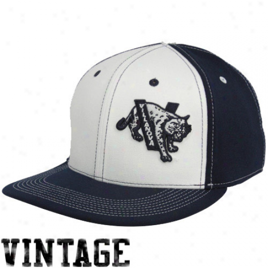 Nike Villanova Wildcats White-navy Blue Vault Color Story Swoosh Flex Hat