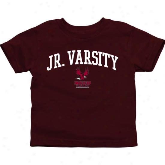 North Carolina Cenral Eagles Toddler Jr. Varsity T-shirt - Maroon