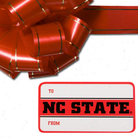 North Carolina State Wolfpack 3-pack Team Gift Tag Sheets