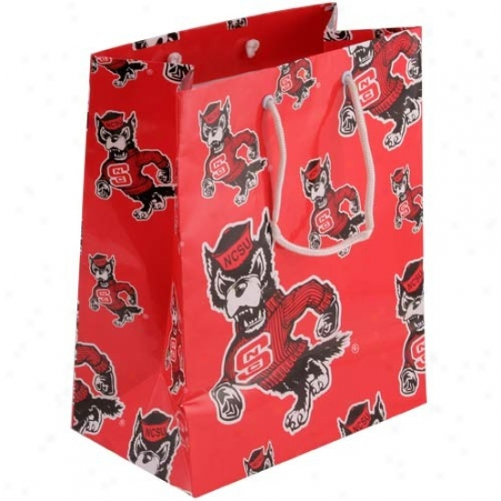 North Carolina State Wolfpack Team Logo Gift Bag