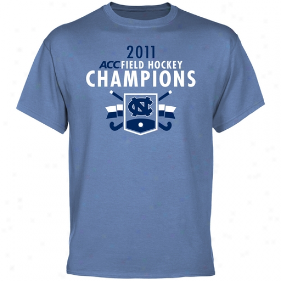 North Carolina Tar Heels 2011 Acc Field Hockey Champions T-shirt - Carolina Blue