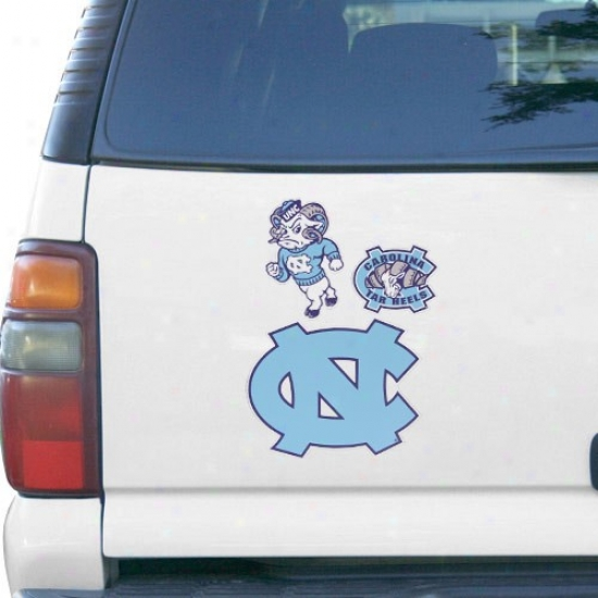 North Carolina Tar Heels (unc) 12'' X 12'' Magnet Multipack